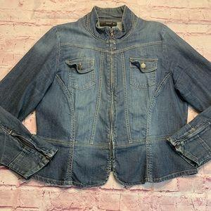 Venezia Womens Size 14/16 Denim Jean Jacket